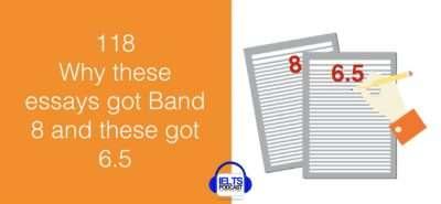 IELTS Writing 118 Band score