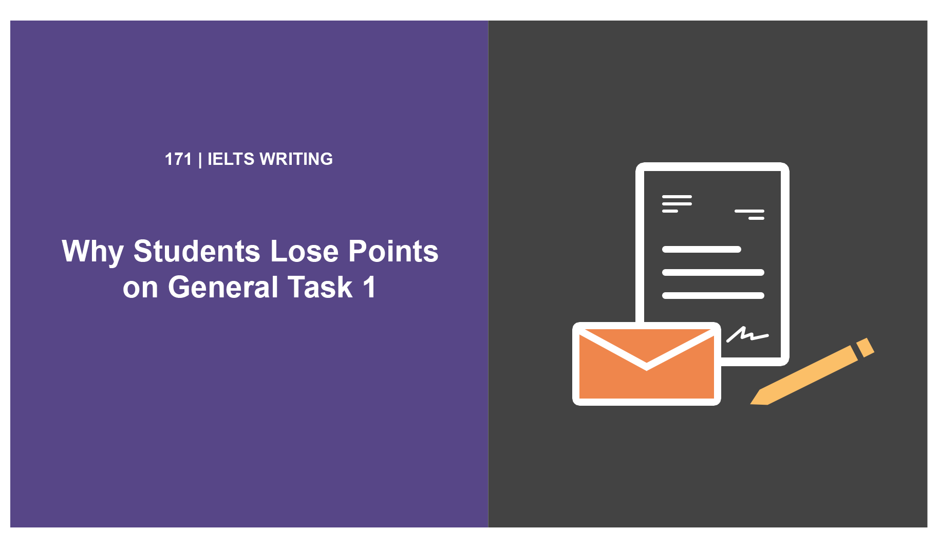 Why Students Lose Points on General Task 1