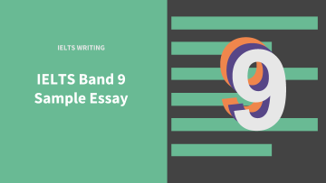 ielts writing essay sample
