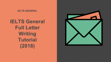 Letter Writing Samples for IELTS General Writing Task 1