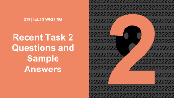 2019 Task 2 Questions and Sample Answers