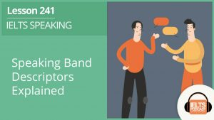 IELTS Speaking Band Descriptors Explained