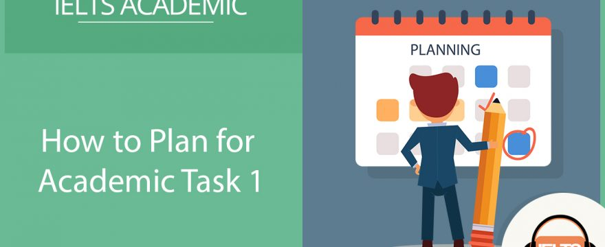 how to plan for Academic Task 1