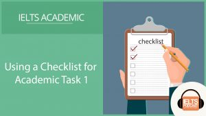 Using a checklist for Academic Task 1